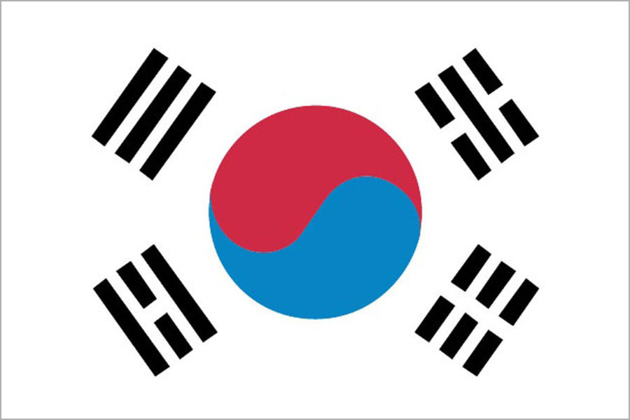 Južná Kórea, vlajka