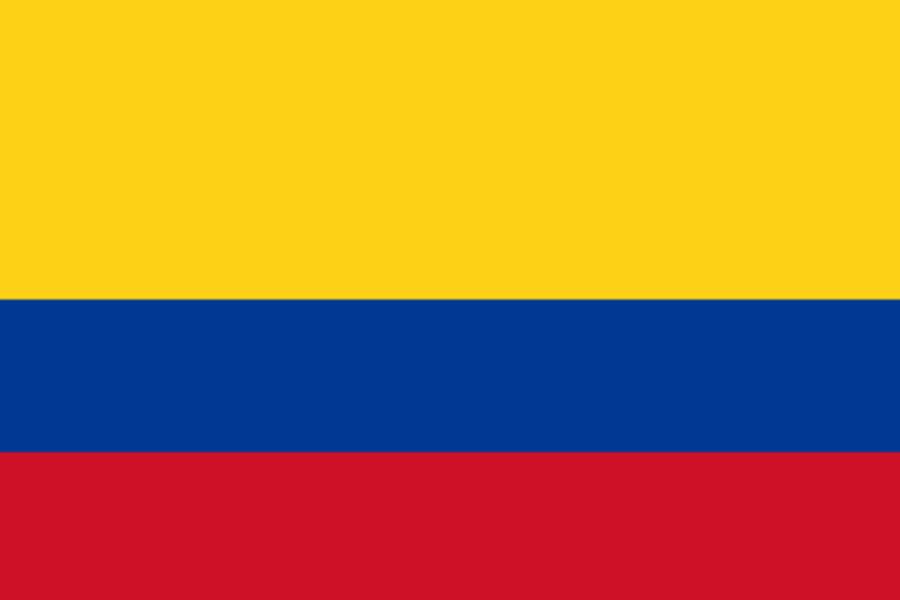 Kolumbia, vlajka