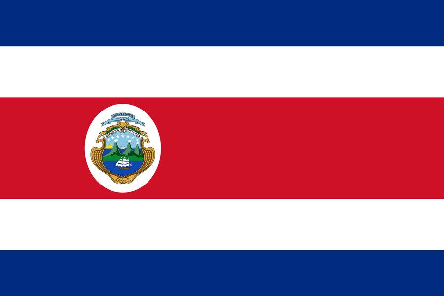 Kostarika, vlajka