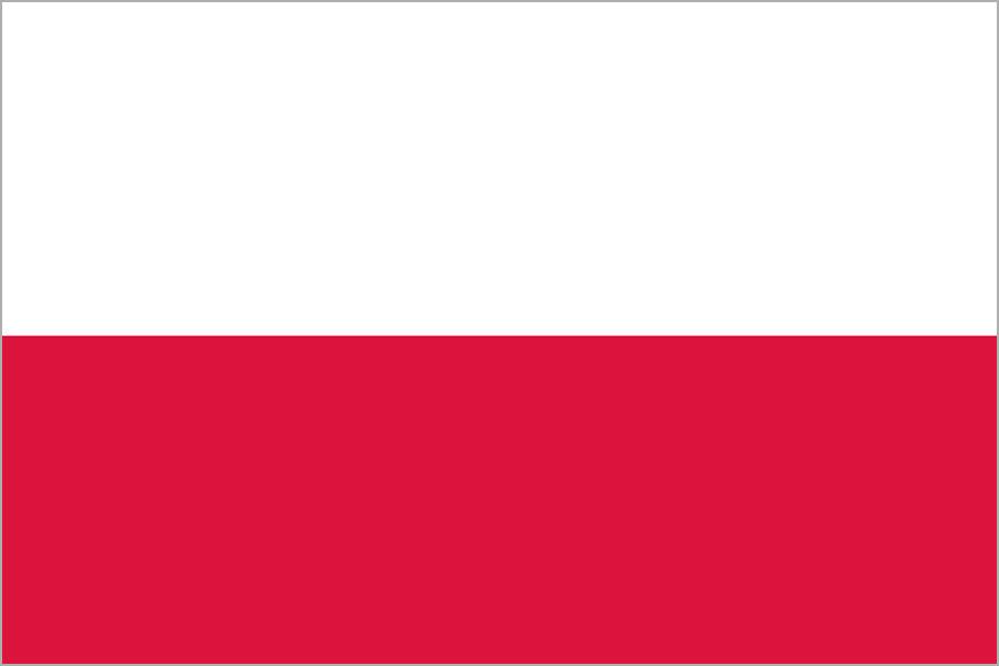 Poľsko, vlajka