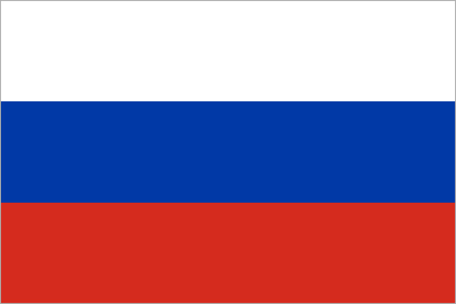 Rusko, vlajka
