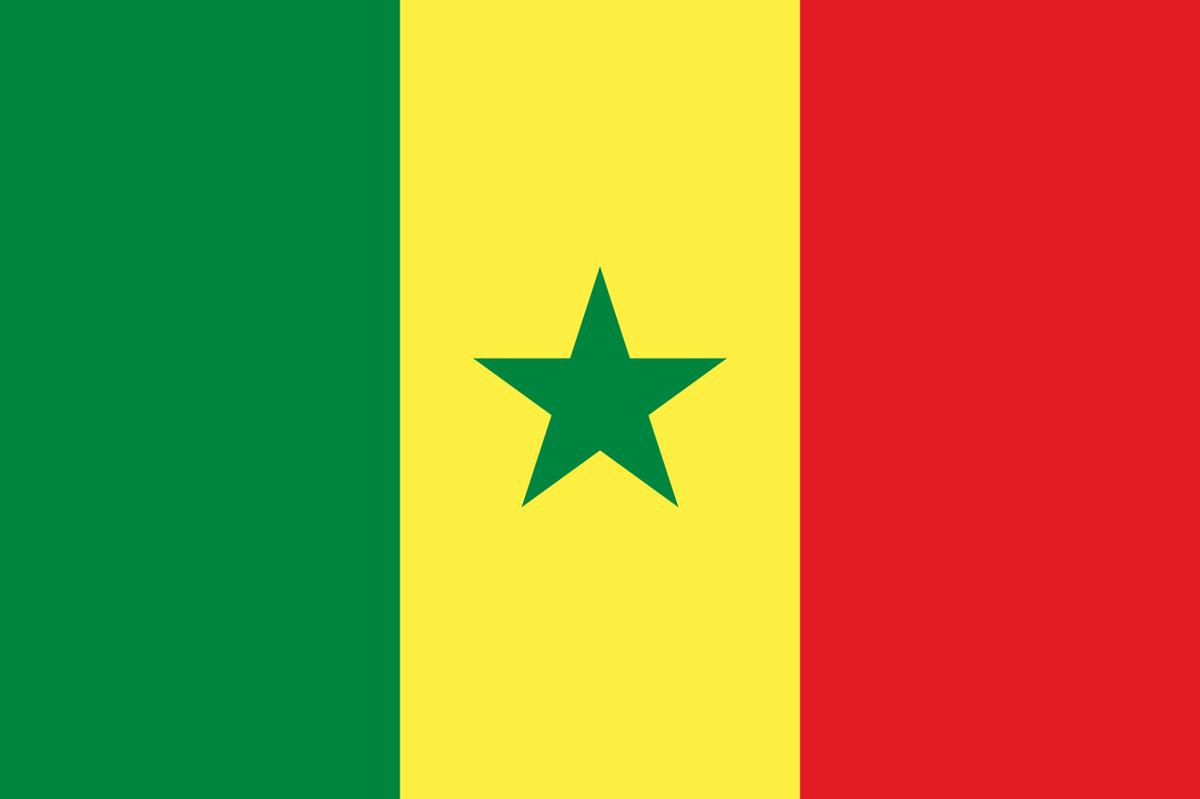 Senegal vlajka