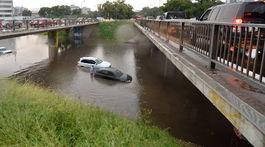 Slovensko počasie dažde záplavové Bratislava BAX