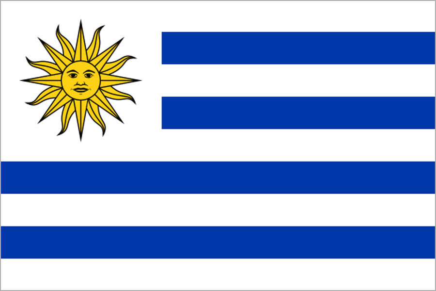 Uruguaj, vlajka