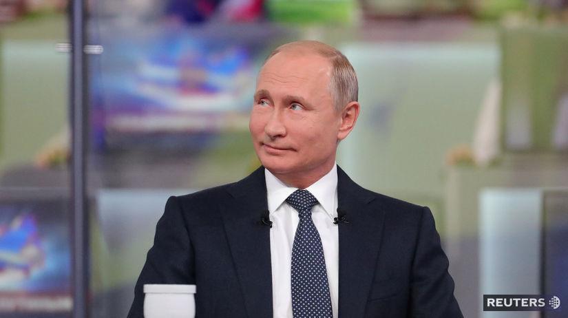 Putin, beseda, občania, Rusko