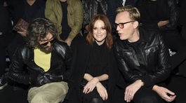 Vincent Gallo, Julianne Moore a Paul Bettany