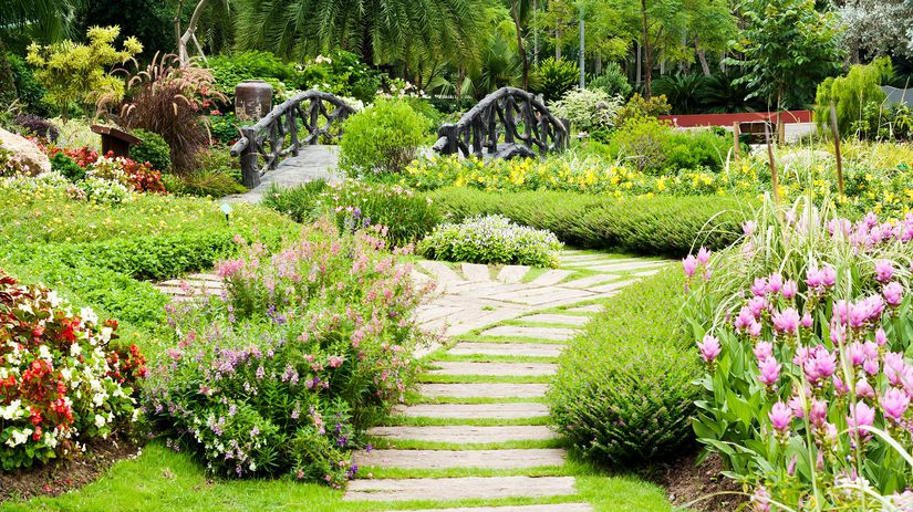 záhrada, skalka