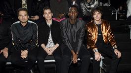 Zľava: Herci Sebastian Stan, Dave Franco, Jerrod Carmichael a Charlie Heaton.