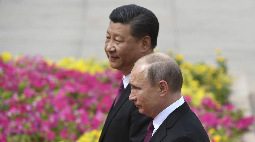 Čína Rusko Putin Návšteva pching