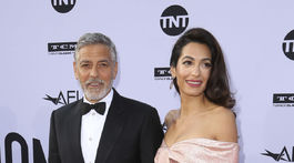 George Clooney a jeho manželka Amal Clooney