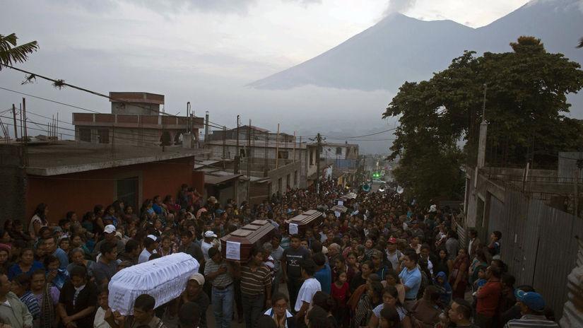 guatemala, sopka,
