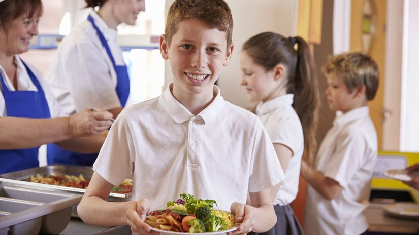 škola, žiak, školský obed, jedáleň
