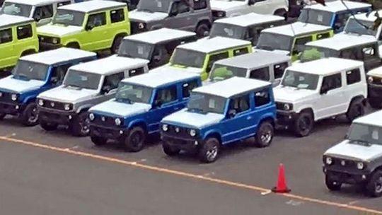 Suzuki Jimny: 'Malé Géčko' neustrážili. Dizajn je vonku