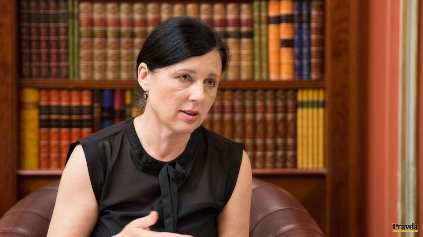 Věra Jourová, eurokomisárka