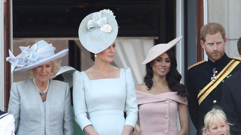 Zľava: Vojvodkyňa z Cornwallu Camilla,...