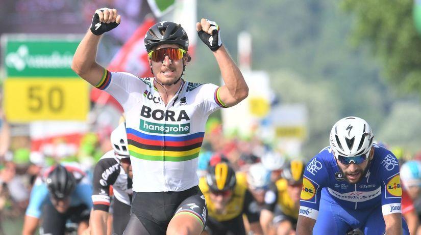Švajčiarsko SR Cyklistika Okolo 2.etapa Sagan...