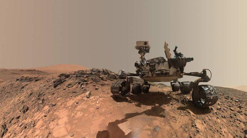 Curiosity, mars, vesmír