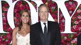 Herec Jeff Daniels a jeho partnerka Kathleen Rosemary Treado.