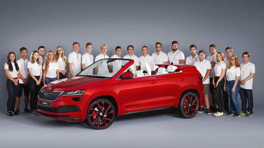 Škoda Sunroq: 'Karoq kabriolet' je hotový. Študenti si zaslúžia jednotku