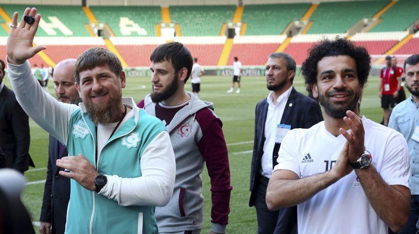 Rusko Futbal MS2018 Egypt Kadyrov
