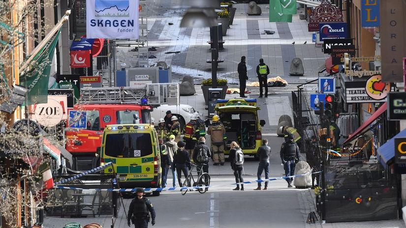 Švédsko Štokholm útok súd verdikt