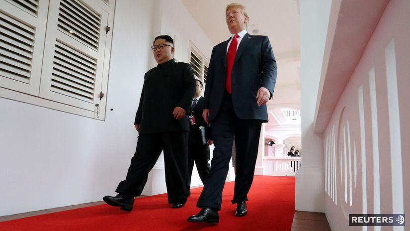 Donald Trump Kim Čong-un