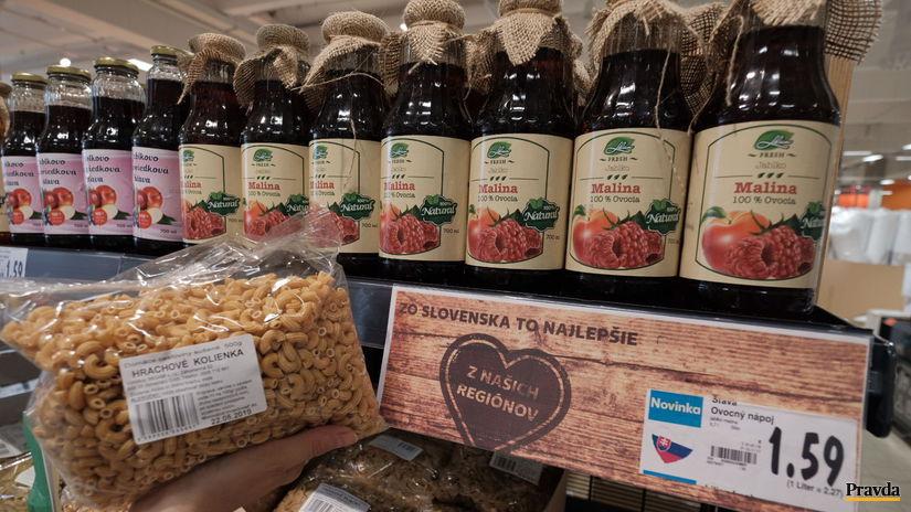 potraviny, Kaufland, nákupy, supermarket,...