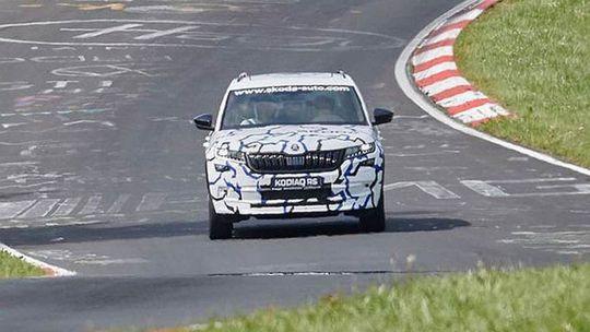Škoda Kodiaq RS: Ostré SUV už testujú. Bude na naftu