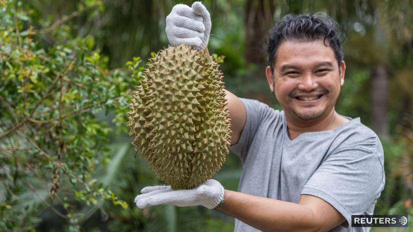 thajské ovocie