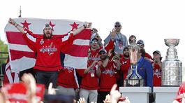 Washington, Stanleyho pohár, oslavy