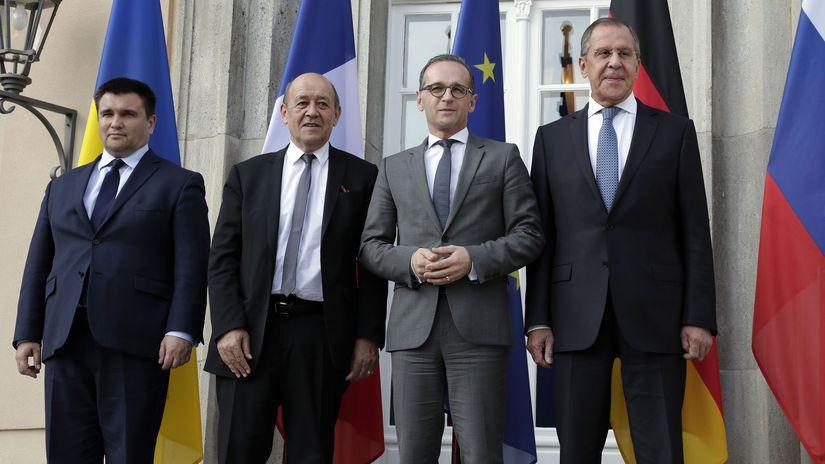 Nemecko Ukrajina Rovanie Mierové Normandská...