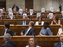 parlament, prezident, prejav, stav republiky, Kiska, Kotleba - L