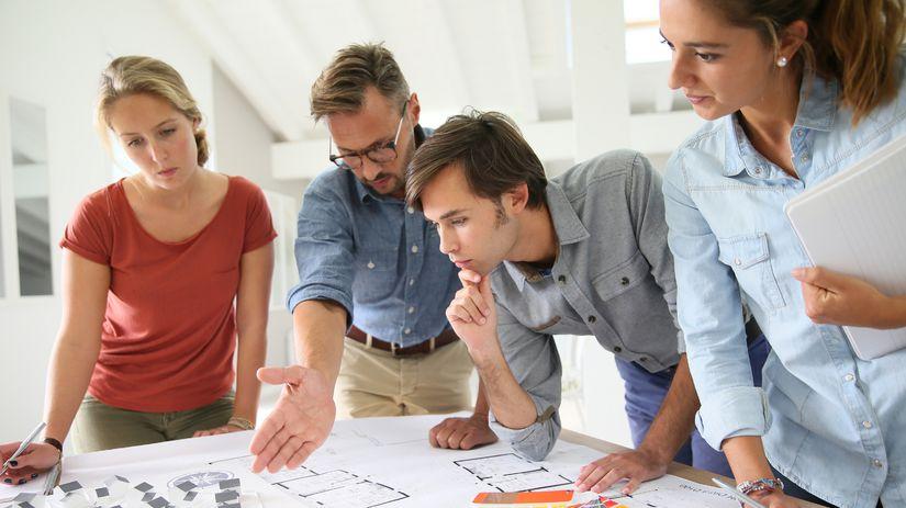 práca, projekt, porada, meeting, zamestanci,...