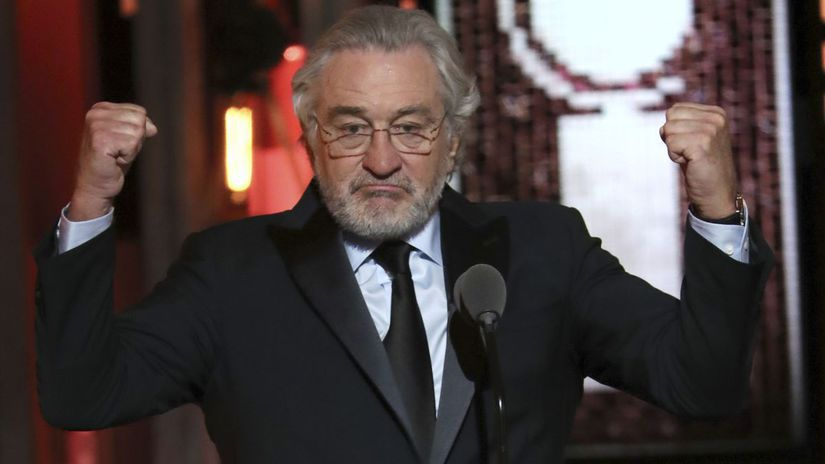 USA ceny Tony deNiro Trump urážka