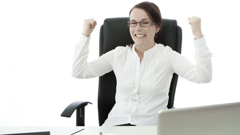 žena, kancelária, práca, profesia, kariéra