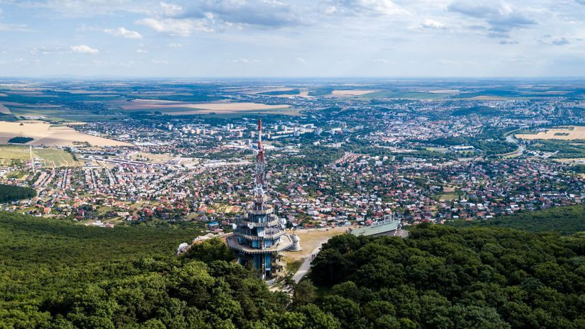 zobor, lanovka, Nitra