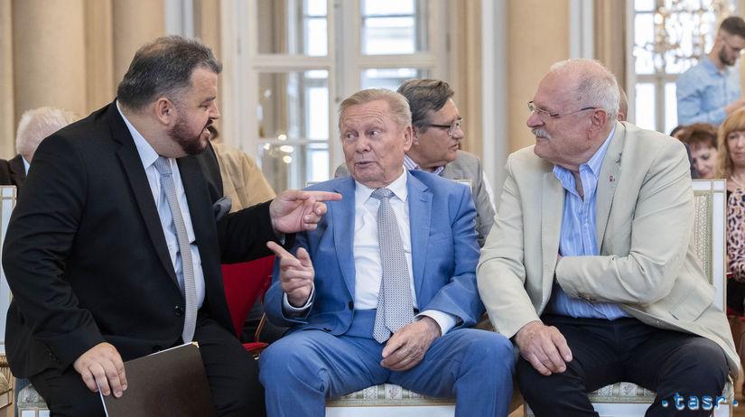 Eduard Chmelár, Rudolf Schuster, Ivan Gašparovič