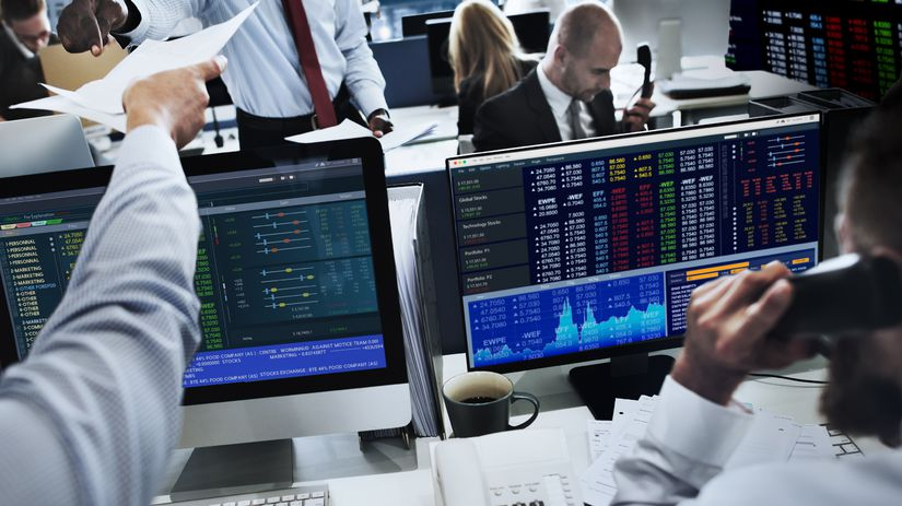 finančné trhy, burza, práca, kurzy