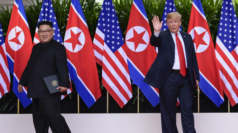 Kim Čong-un, Donald Trump, summit, Singapur