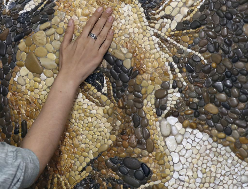 MS Rusko, majstrovstvá sveta vo futbale, mozaika, ruka, umenie