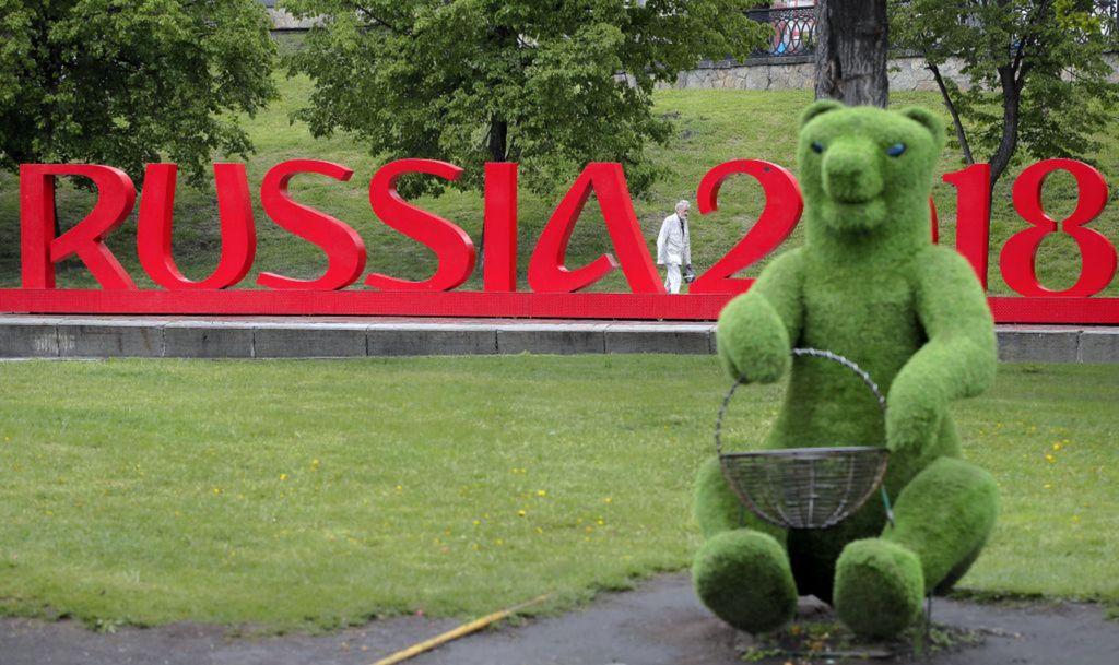 Rusko, MS vo futbale, majstrovstvá, medveď