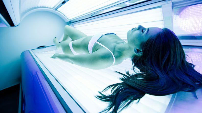 solárium, opaľovanie,koža
