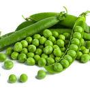 zelený hrášok, strukoviny, bielkoviny