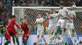 Cristiano Ronaldo, priamy kop