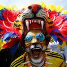 Fanúšik Kolumbie.