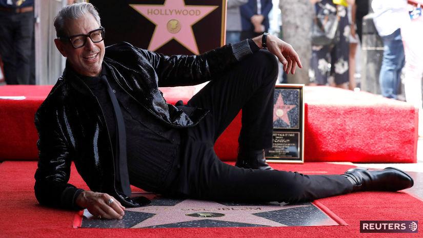 Herec Jeff Goldblum odostal vlastnú hviezdu na...
