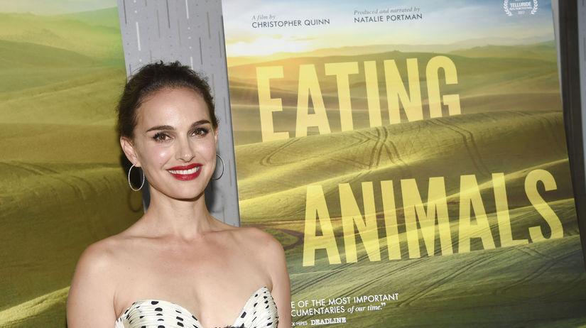 Producentka a herečka Natalie Portman na...