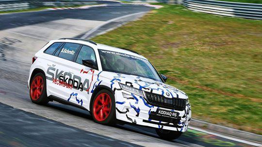 Škoda Kodiaq RS: Rekord na Nürburgringu. Ešte pred premiérou
