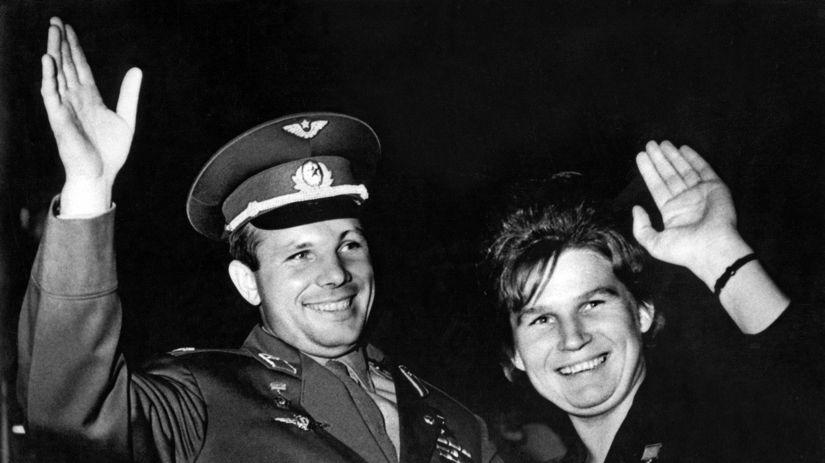 Valentina Tereškovová, Jurij Gagarin