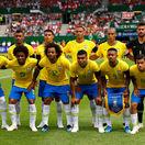 Brazília, futbal, tím